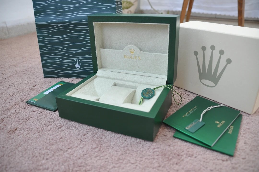 rolex box and papers replica